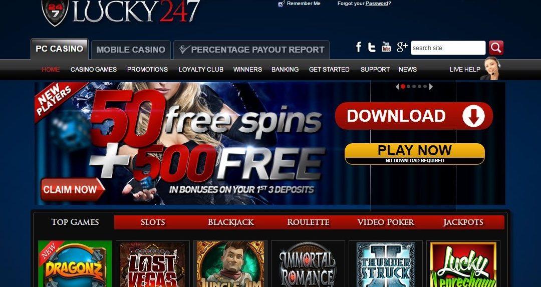 Lucky247 Casino Arvostelu